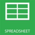 Spreadsheet button