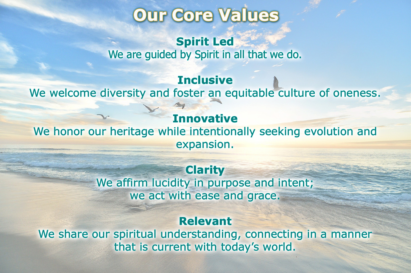 Core Values med 2