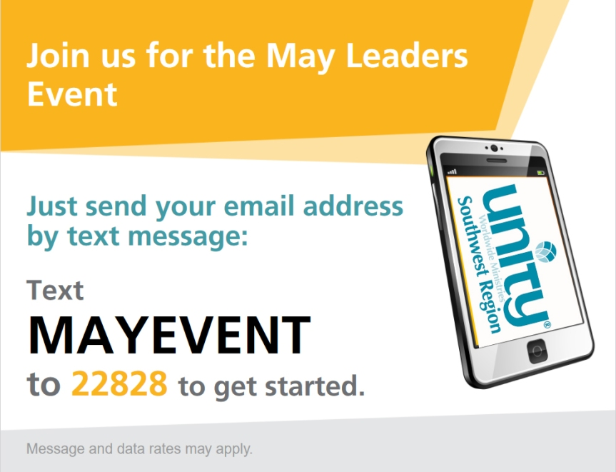 Text AMYEVENT to 22828 to register